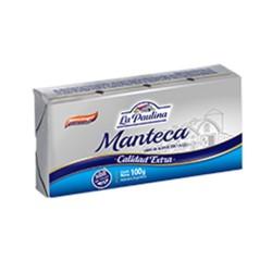 MANTECA LA PAULINA X 100 G